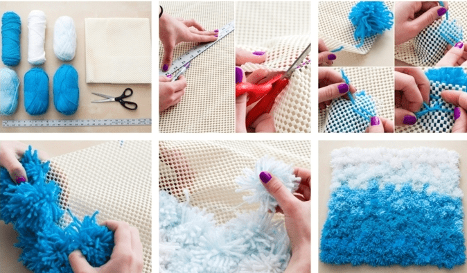 Challenge your creativity and make a warm and fluffy pom pom